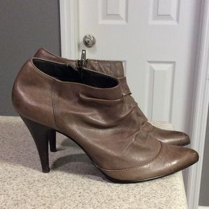 Aldo Brown Ankle Booties